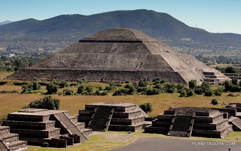 Пирамида Солнца - Место силы Теотиуакан