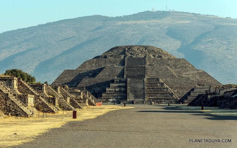 Пирамида Луны - Место силы Теотиуакан