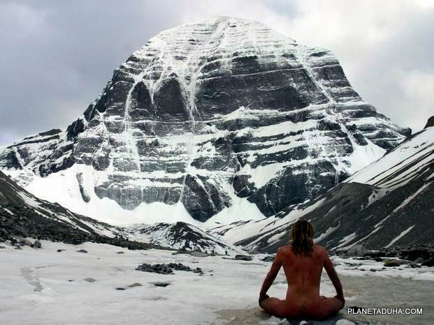 Гора Кайлас - главная пирамида