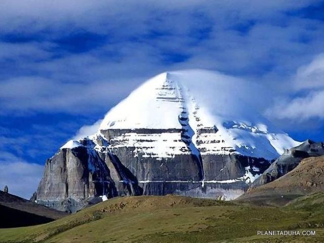 Место силы богов - гора Кайлас