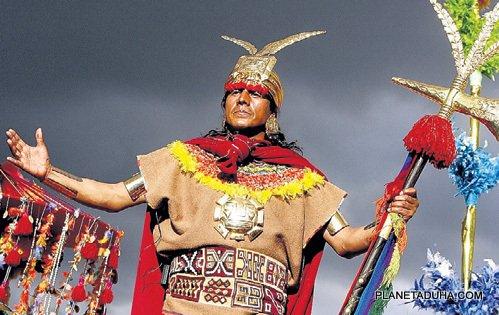 Жители Мачу-Пикчу