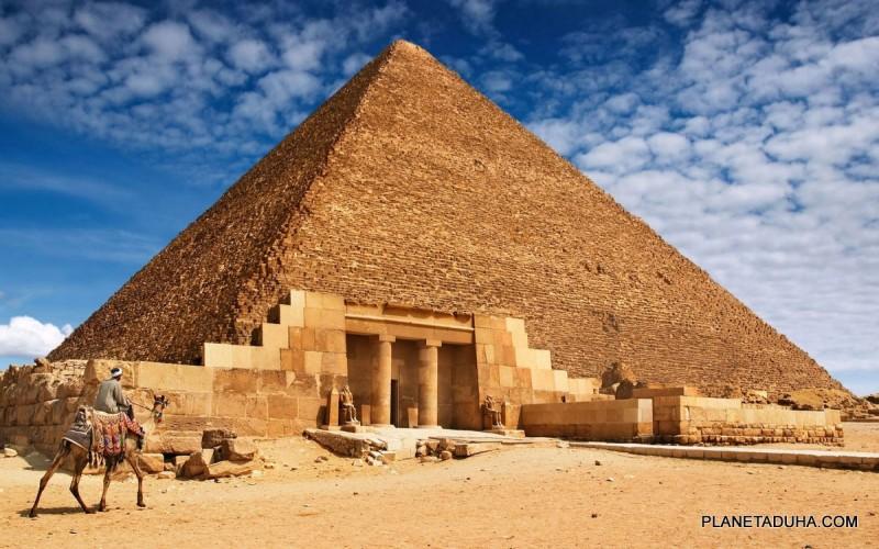 Пирамида Хеопса (Хуфу) - Египетские пирамиды