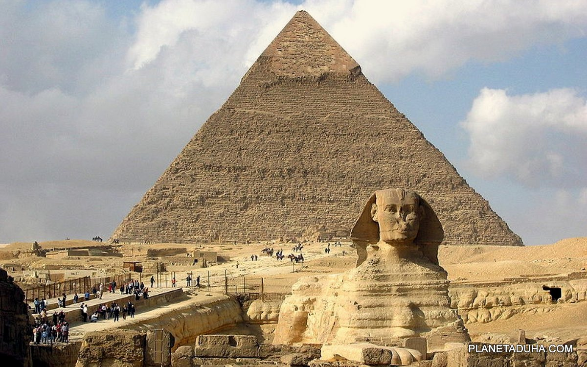 схема египетской пирамиды хеопса