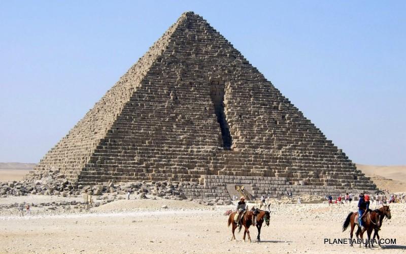 Пирамида Менкаура (Микерина) - Египетские пирамиды