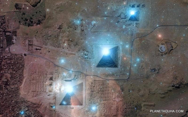 Египетские пирамиды и созвездие Ориона