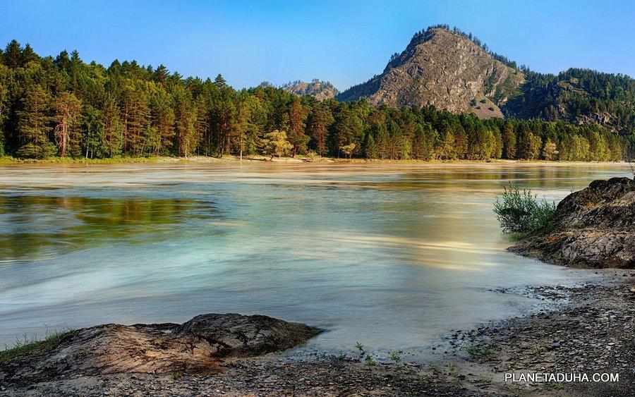 Горный Алтай - название озера неизвестно