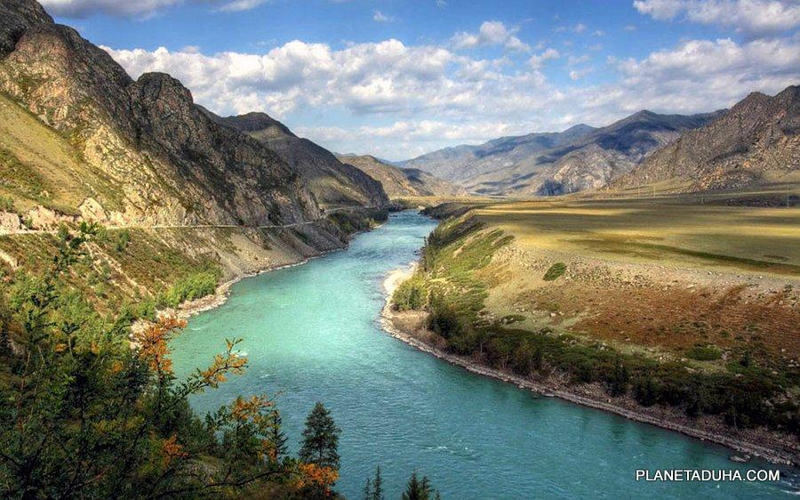 Долина реки Катунь - Горный Алтай