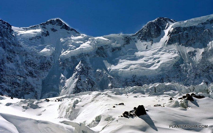 Аккемская стена - Гора Белуха