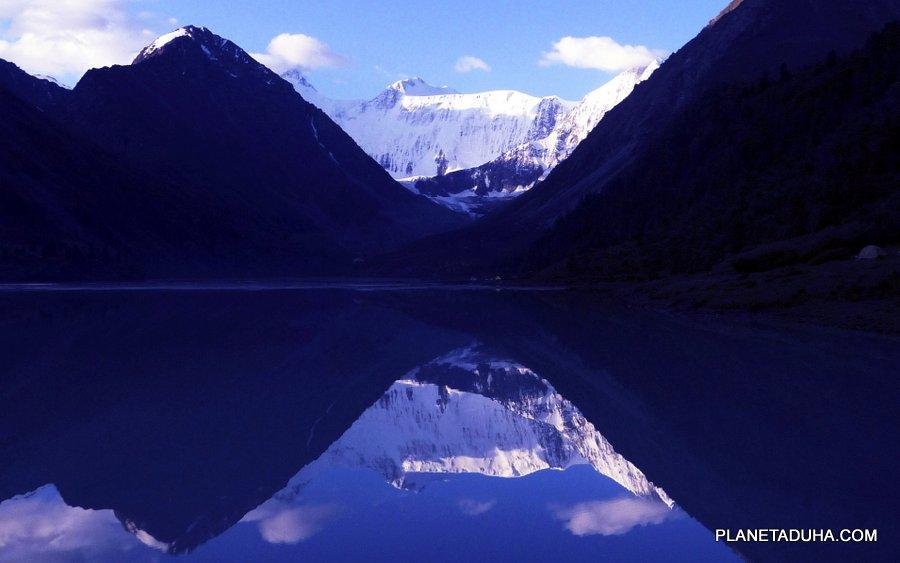 Рассвет на Аккемком озере
