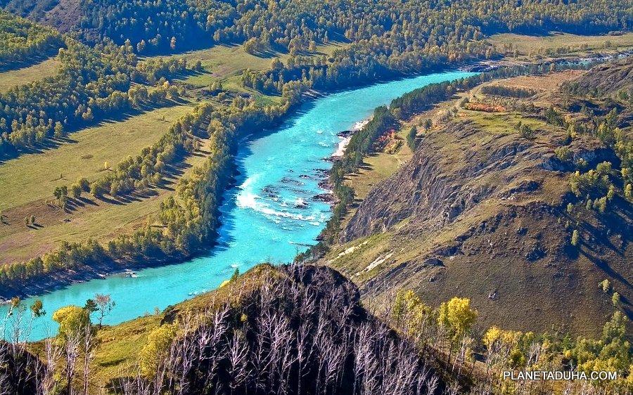 Река Катунь - Катунский биосферный заповедник - Горный Алтай