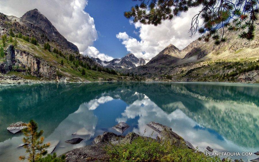 Озеро Дарашколь (Дараш-Кёль) (красивое озеро) - Горный Алтай