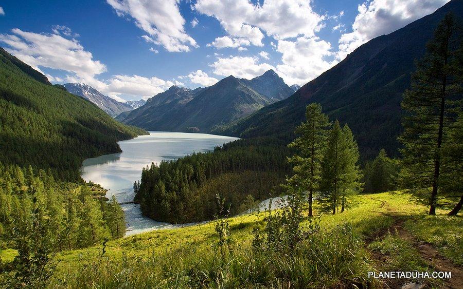Кучерлинское озеро - Катунский заповедник - Горный Алтай