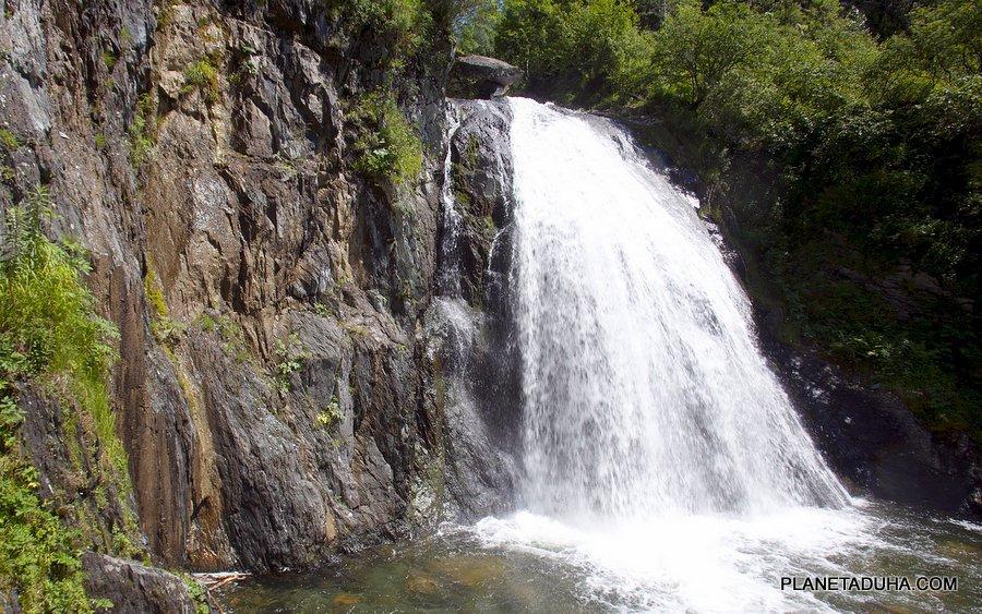 Водопад Корбу - Горный Алтай