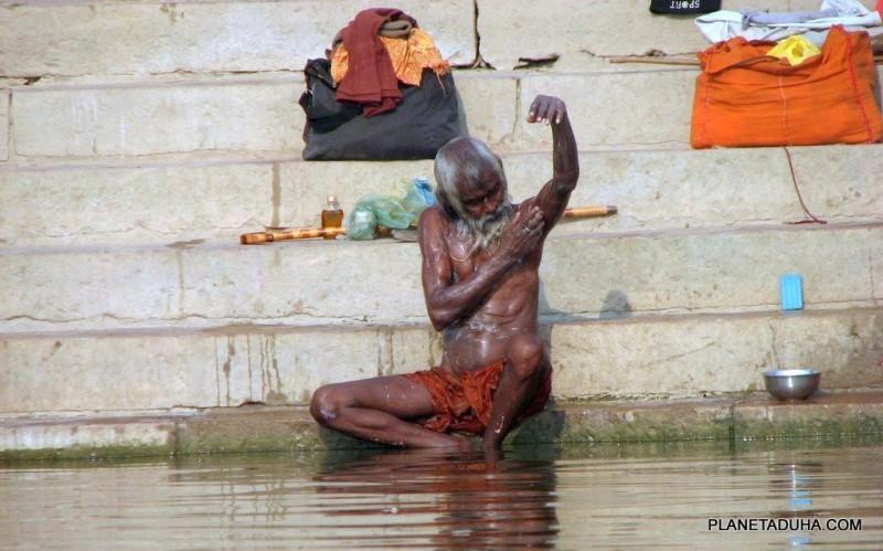 Обычная картина на Гхате