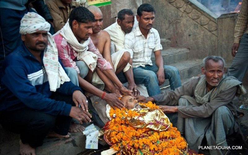 Варанаси - хронология обряда кремации