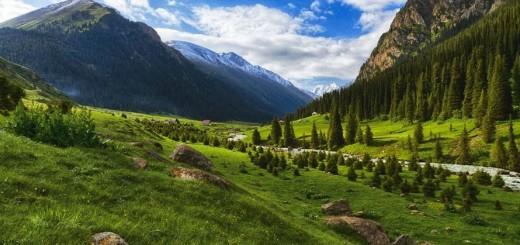 Горячие источники Алтын-Арашан
