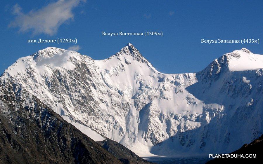 Гора Белуха – Трехглавая священная гора Горного Алтая