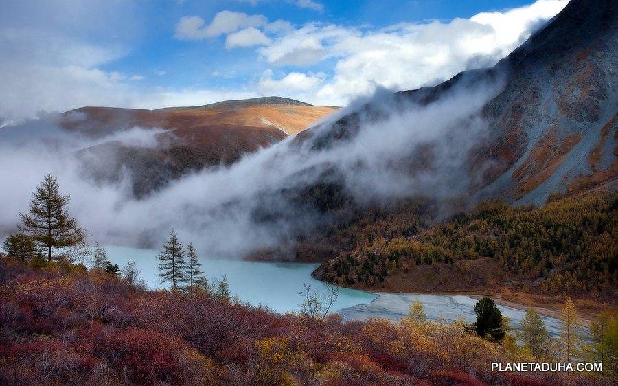 Осень в горном Алтае