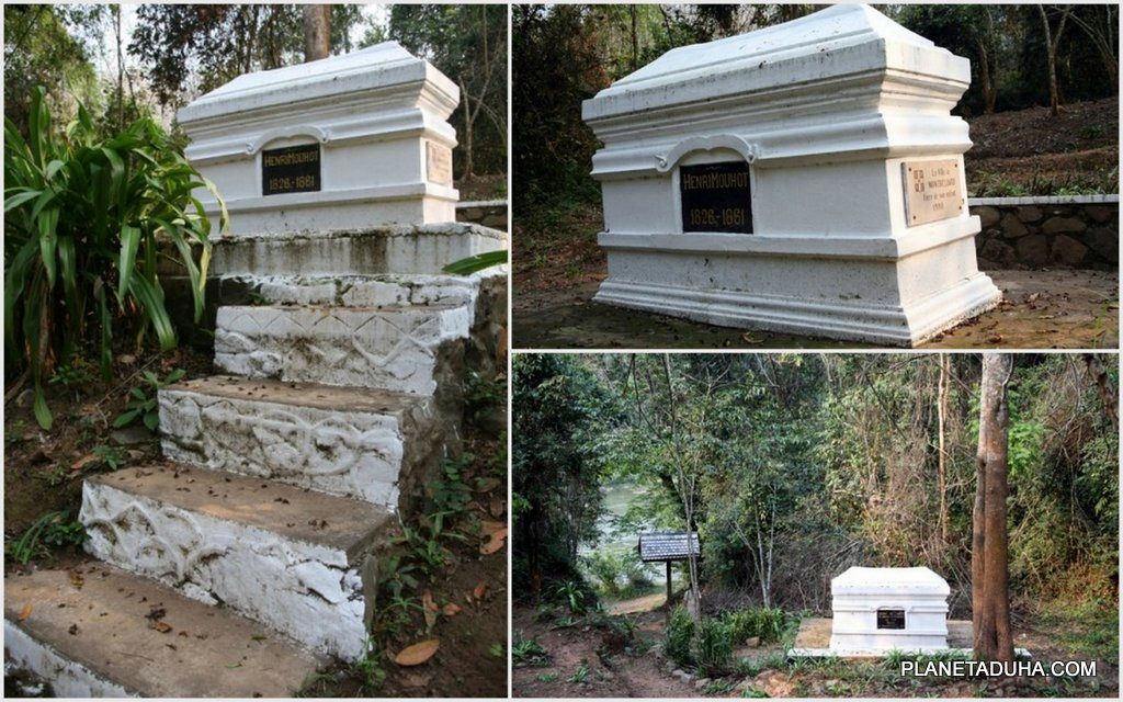 Могила французского исследователя Анри Муо (1826-1861гг) в Лаосе