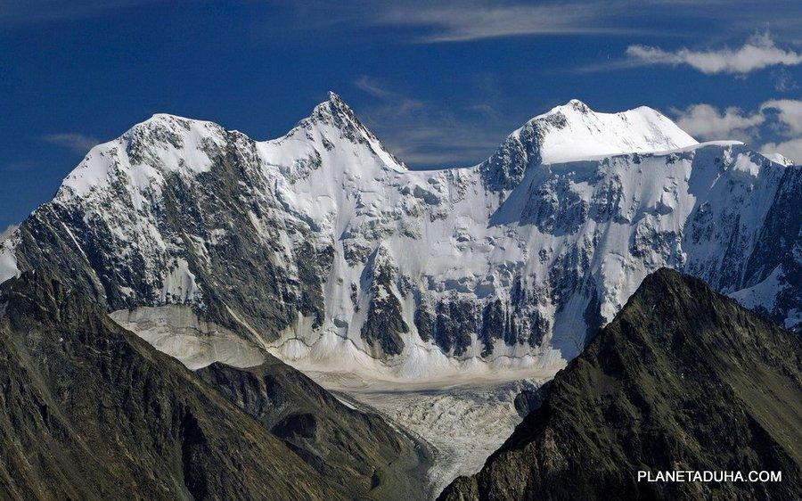 Гора Белуха - Грозная Аккемская стена