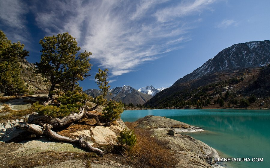 Озеро Дарашкель - Катунский хребет