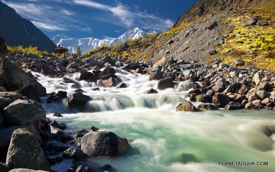 Река Аккем - Правый приток Катуни