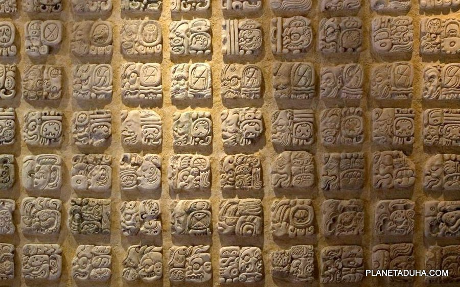 Mayan Lettering